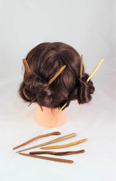 Haarspieße -Nadeln