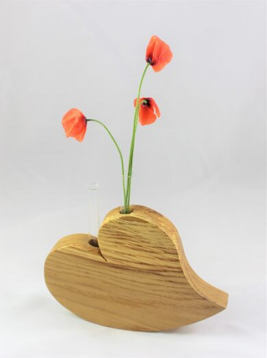 Herz Vase